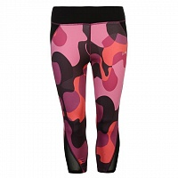 USA Pro Three Quarter Leggings Camo