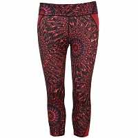 USA Pro Three Quarter Leggings red